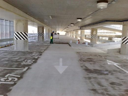 Daugiaaukštės automobilių stovėjimo aikštelės statyba Rodūnios kelias 3, Vilniuje